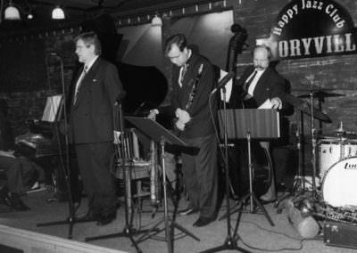 Antti Sarpila Swing Band avajaisissa 1993
