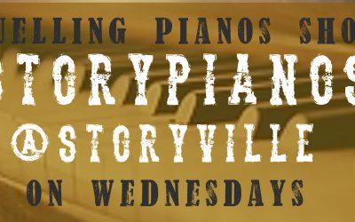 Storypianos keskiviikkoisin Puistoterassilla